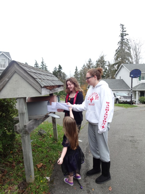 Mailing our letters